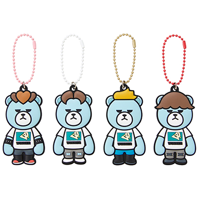 KRUNK × WINNER ラバーチャーム(全4種)