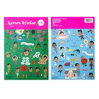 <avex mu-mo> Aurore Sticker No.1画像