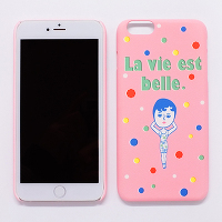 <avex mu-mo> AURORE LA VIE EST BELLE SNAP CASE for iPhone 6画像