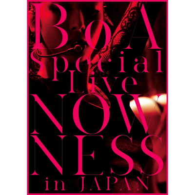 BoA Special Live NOWNESS in JAPAN(DVD2枚組)