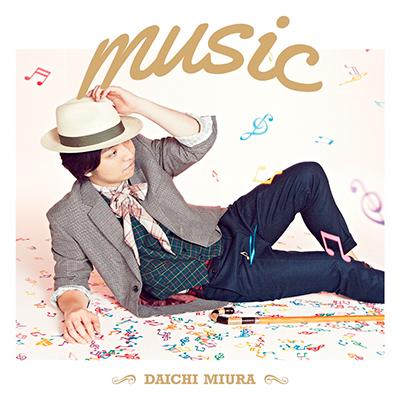 music(CDシングル+DVD / CHOREO VIDEO盤)