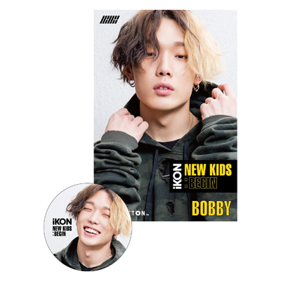 NEW KIDS:BEGIN(PLAYBUTTON)[BOBBY盤]