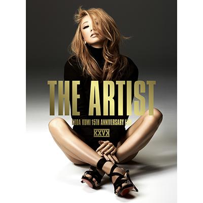 KODA KUMI 15th Anniversary LIVE The Artist(2枚組DVD+スマプラ)