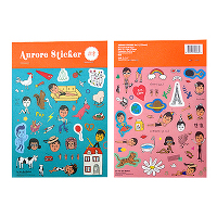 <avex mu-mo> Aurore Sticker No.2画像