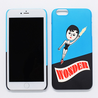<avex mu-mo> WONDER AURORE SNAP CASE for iPhone 6画像