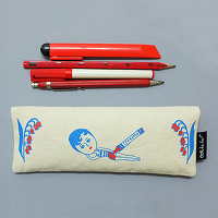 <avex mu-mo> CRAYON AURORE PENCIL CASE画像