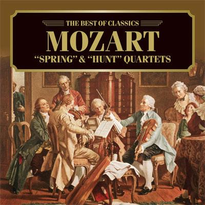 モーツァルト:弦楽四重奏曲《春》&《狩》