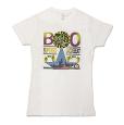 SUPERGO JACKBEAT Tシャツ(白/Ladies)