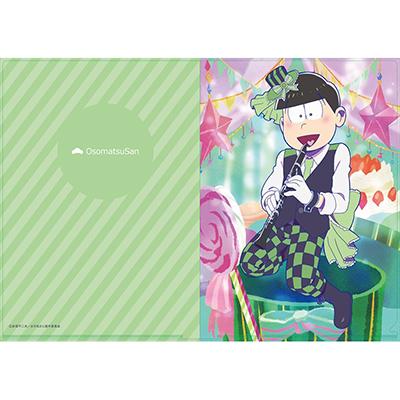 おそ松さん 【描き下ろし】吹奏楽松クリアファイル チョロ松