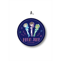 <avex mu-mo> KING OF PRISM レザーバッジ A【PRISM JUMP】画像