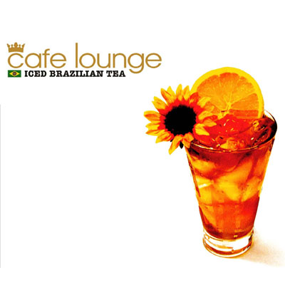 cafe lounge ICED BRAZILIAN TEA