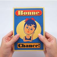 <avex mu-mo> BONNE CHANCE PLANNER BLUE画像