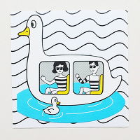 <avex mu-mo> DUCK BOAT CARD画像