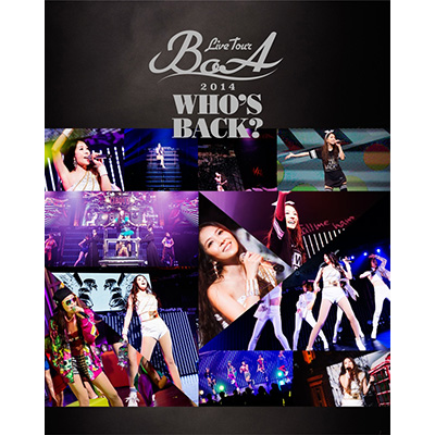 BoA LIVE TOUR 2014 ~WHO'S BACK?~【通常盤】(Blu-ray)