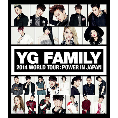 YG FAMILY WORLD TOUR 2014 -POWER- in Japan(2枚組Blu-ray)