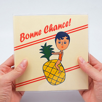 <avex mu-mo> BONNE CHANCE SIMPLE PLANNER PINEAPPLE画像