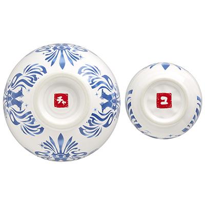 ユンホの湯呑とチャンミンの茶碗