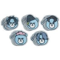 <avex mu-mo> KRUNK X BIGBANG ポイントシートパック(スタンド付/全5種)画像