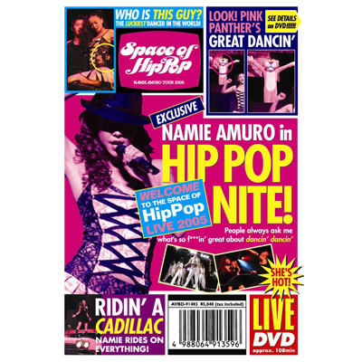 Space of Hip-Pop -namie amuro tour 2005-�y�ʏ�Ձz