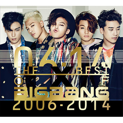 THE BEST OF BIGBANG 2006-2014(3枚組CD)