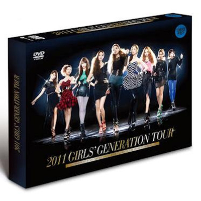 2011 GIRLS' GENERATION TOUR DVD(韓国盤)