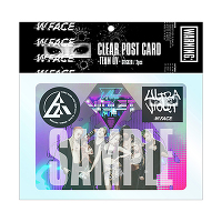 <avex mu-mo> CLEAR POST CARD -TEAM UV-(ステッカー2枚付)画像