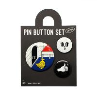 <avex mu-mo> I FOUND IT PIN BUTTON SET画像
