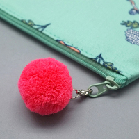 <avex mu-mo> AURORE_MINT POMPOM PENCIL CASE画像