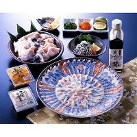 <avex mu-mo> ふく料理フルコース(絵皿・菊盛り)画像