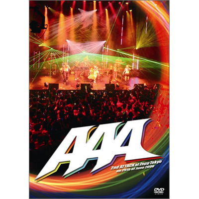 2nd ATTACK at Zepp Tokyo on 29th of June 2006【通常盤】