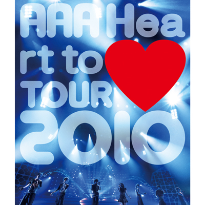 【Blu-ray】AAA Heart to (黒色ハート記号)TOUR 2010
