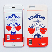 <avex mu-mo> TABOM STRAWBERRY SNAP CASE for iPhone 6画像