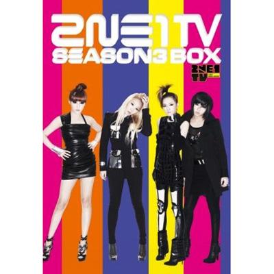 2NE1 TV SEASON 3 BOX