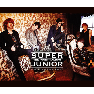 SUPER JUNIOR 4TH ALBUM ��4�W �w��l�iBONAMANA�j�x