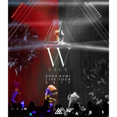 KODA KUMI LIVE TOUR 2017 - W FACE -【通常盤】(Blu-ray)