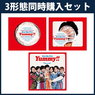 Yummy!!【アルバム3形態同時購入セット】