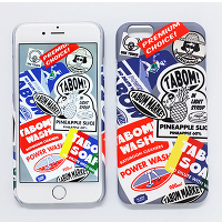 <avex mu-mo> TABOM LABEL SNAP CASE for iPhone 6画像