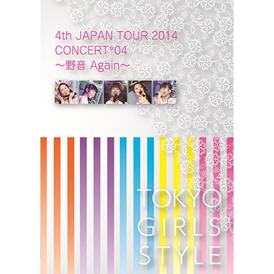 4th JAPAN TOUR 2014 CONCERT*04 ~野音 Again~(2DVD)