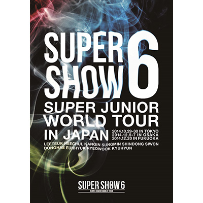 SUPER JUNIOR WORLD TOUR SUPER SHOW6 in JAPAN【通常盤】(DVD2枚組)