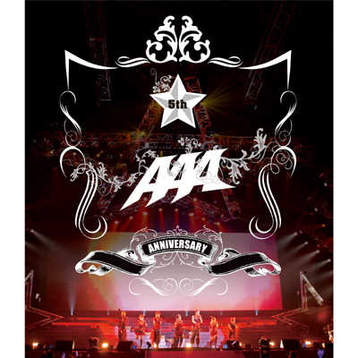 【Blu-ray】AAA 5th Anniversary LIVE 20100912 at Yokohama Arena