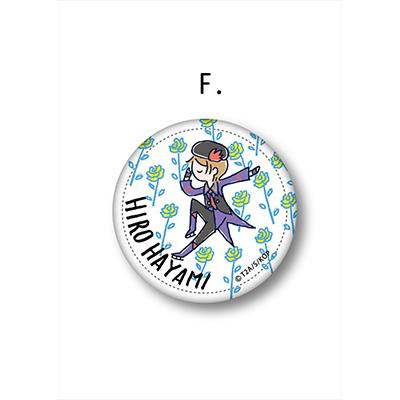 KING OF PRISM レザーバッジ F【HIRO HAYAMI】