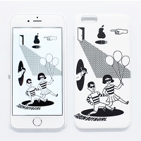 <avex mu-mo> TABOM OPENED DOOR SNAP CASE for iPhone 6画像