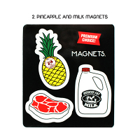 <avex mu-mo> PINEAPPLE AND MILK MAGNET画像