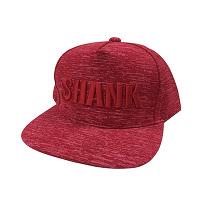 <avex mu-mo> SHANKロゴ キャップ(メランジ)[カラー:RED ×  RED]画像