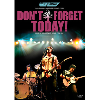"""the pillows 25th Anniversary NEVER ENDING STORY """"DON'T FORGET TODAY!""""2014.10.04 at TOKYO DOME CITY HALL(DVD)"""