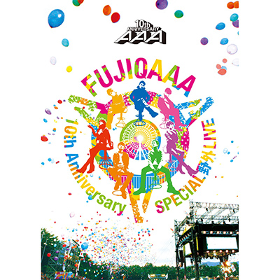 AAA 10th Anniversary SPECIAL 野外LIVE in 富士急ハイランド【通常盤DVD】