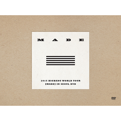 2015 BIGBANG WORLD TOUR [MADE] IN SEOUL DVD