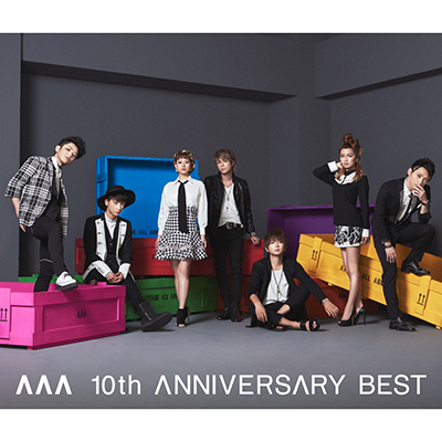 AAA10周年ベストアルバム・AAA 10th ANNIVERSARY BEST(2CD+DVD)