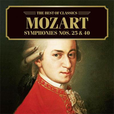 モーツァルト:交響曲第25番、第40番