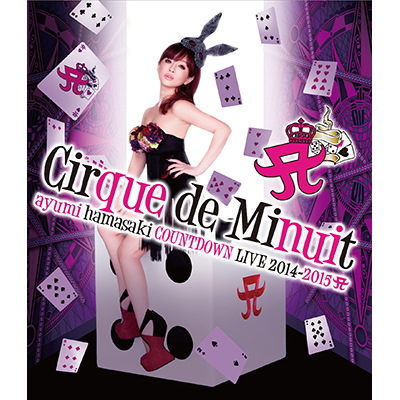 ayumi hamasaki COUNTDOWN LIVE 2014-2015 A(ロゴ) Cirque de Minuit(Blu-ray)